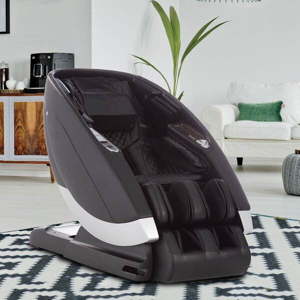 Super Novo Power Reclining Adjustable Width Heated Full Body Massage Chair By Human Touch