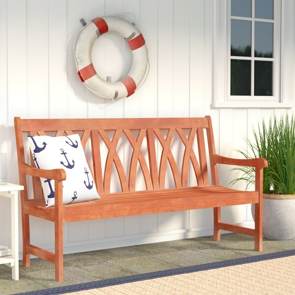 Monterry Eco-friendly Outdoor Hardwood Garden Bench by Beachcrest Home