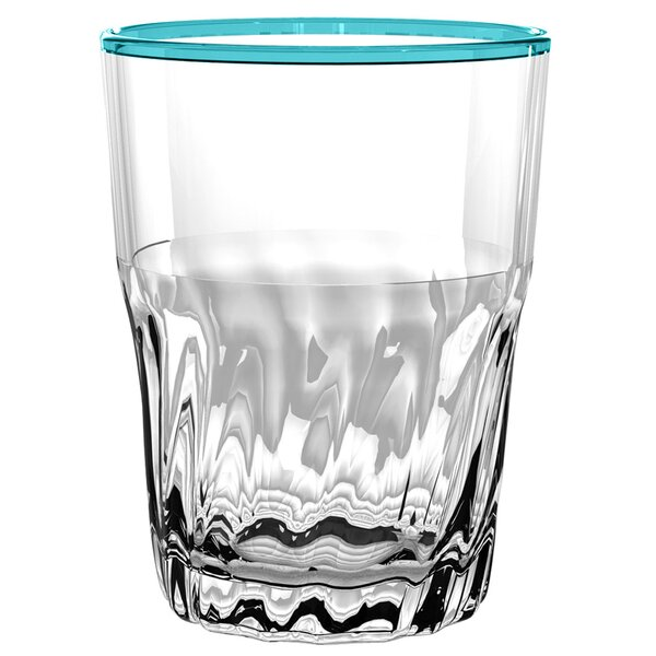 Lincolnville 15 oz. Acrylic Drinking Glass (Set of 6) by Beachcrest Home