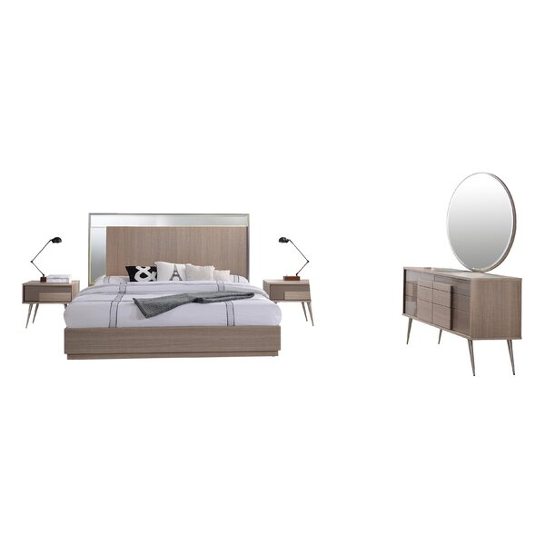 Bulluck Platform 5 Piece Bedroom Set by Corrigan Studio