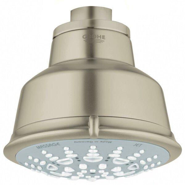 Relexa Rustic 100 5 Spray Multi Function Rain Shower Head by Grohe