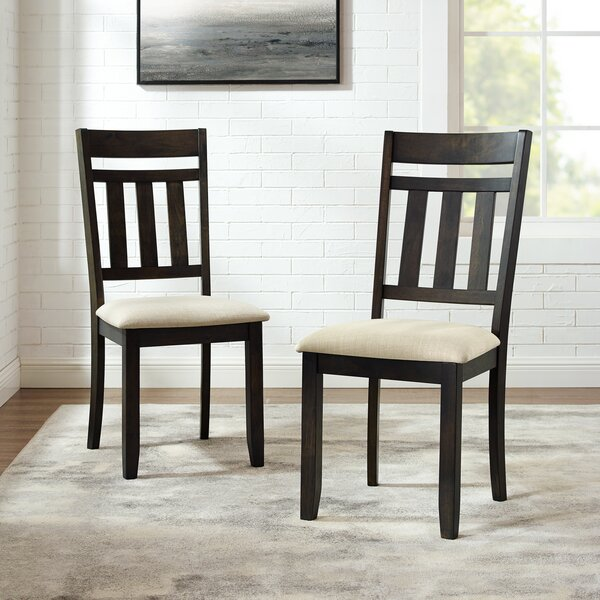 Jaida Upholstered Dining Chair (Set Of 2) By Gracie Oaks