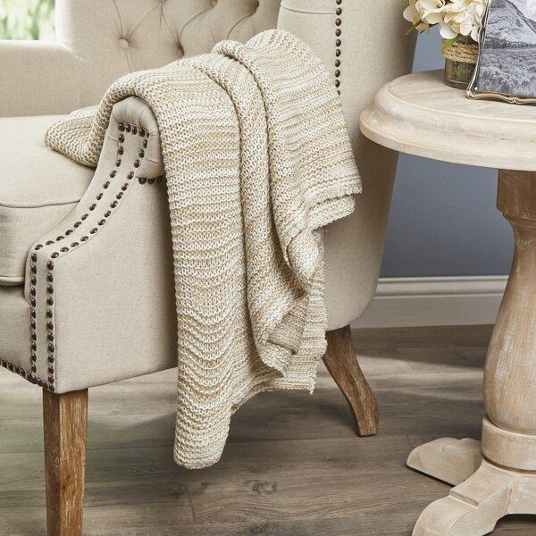 Aleana Knitted Throw by Eider & Ivory
