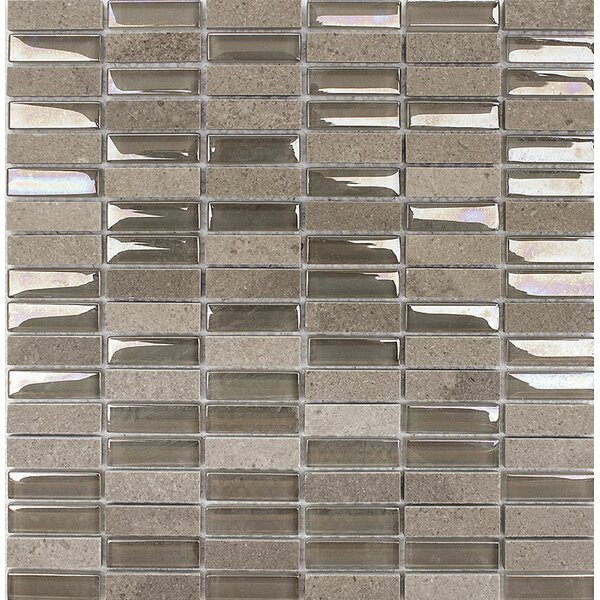 San Francisco Stacked 0.625 x 2 Glass Mosaic Tile by Parvatile