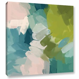 Calm Colors I Painting Print on Wrapped Canvas by Mercury Row