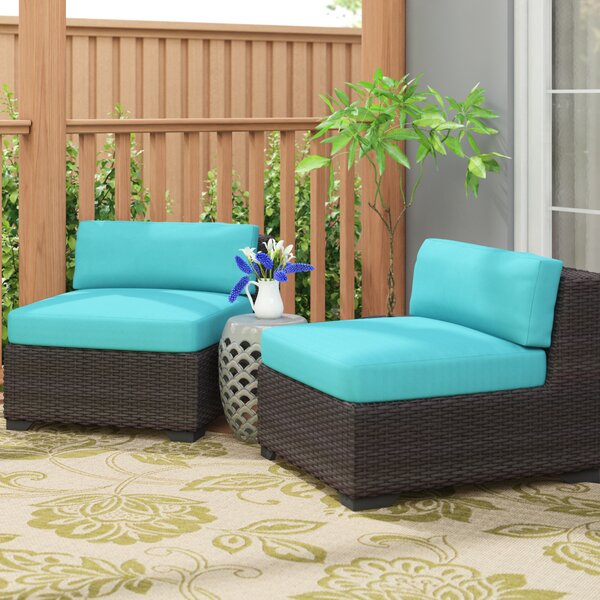 Fernando Patio Chair with Cushions (Set of 2) by Sol 72 Outdoor