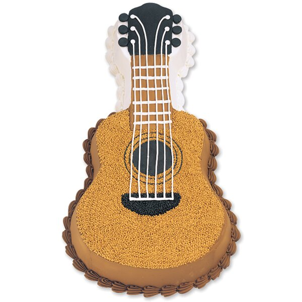 Guitar Novelty Cake Pan by Wilton
