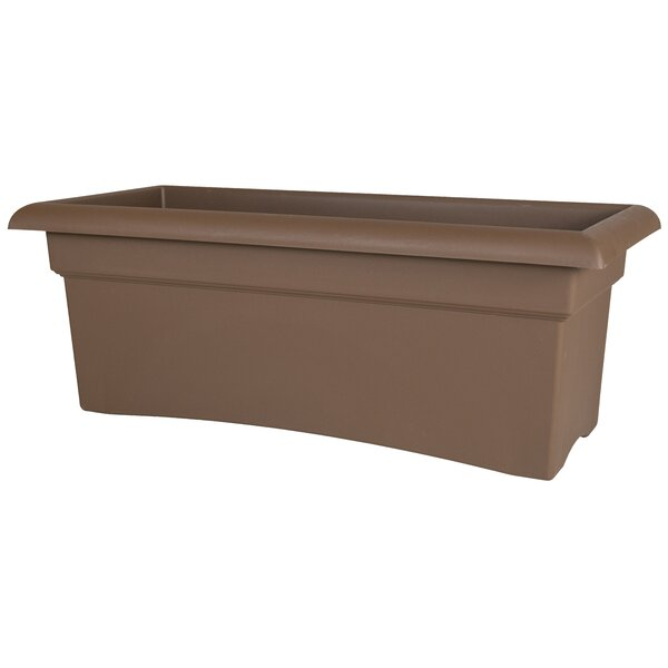 Veranda Deck Plastic Planter Box by Bloem
