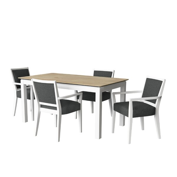 Ahull 5-Piece Dining Set By Ebern Designs