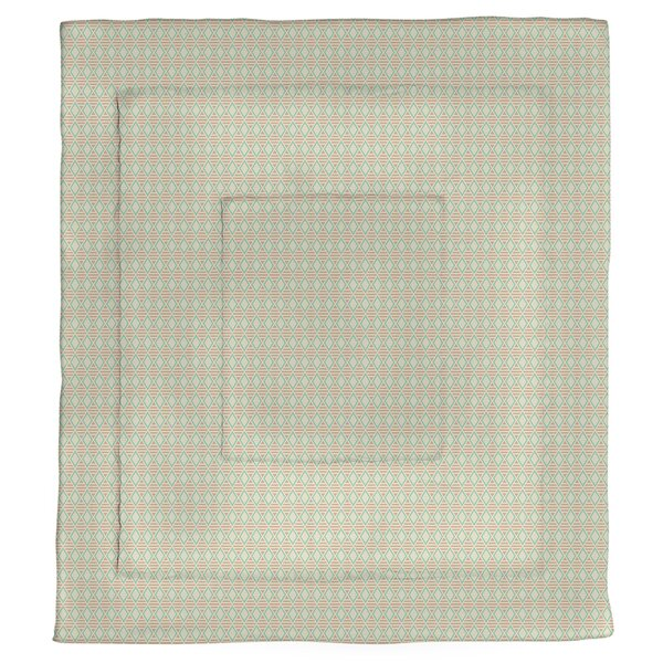 Avicia Geometric Diamonds Single Reversible Comforter