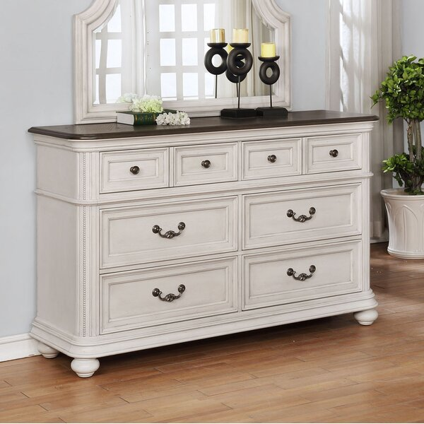 Alisa 6 Drawer Double Dresser by One Allium Way