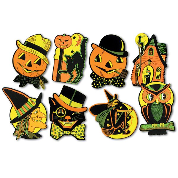 4 piece Halloween Standup Set (Set of 3) by The Beistle Company