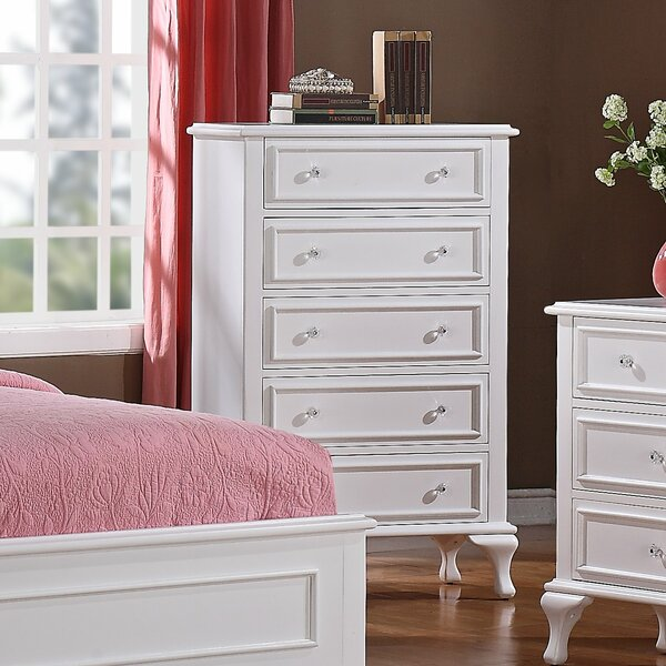 Consuelo 5 Drawer Chest By Harriet Bee New
