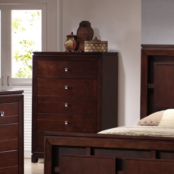 Bethania 5 Drawer Standard Chest by Latitude Run