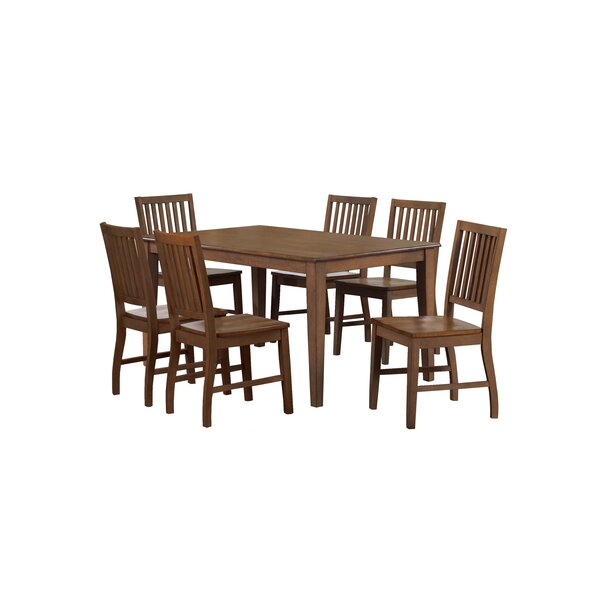 Huerfano Valley 7 Piece Dining Set by Loon Peak Loon Peak