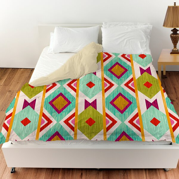 Ikat Duvet Cover by Manual Woodworkers & Weavers