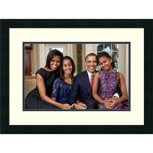 'The First Family: The Obamas' Framed Memoribilia on Wood by East Urban Home