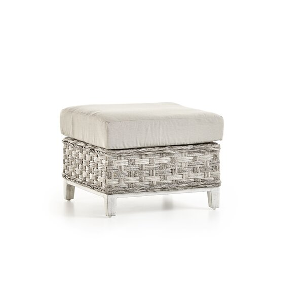 Cape Lookout Ottoman With Cushion by South Sea Rattan