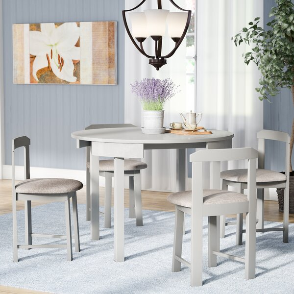 Mabelle 5 Piece Dining Set by Andover Mills