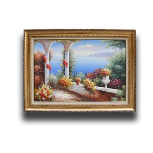 Mediterranean' Framed Painting by Greenville Signature