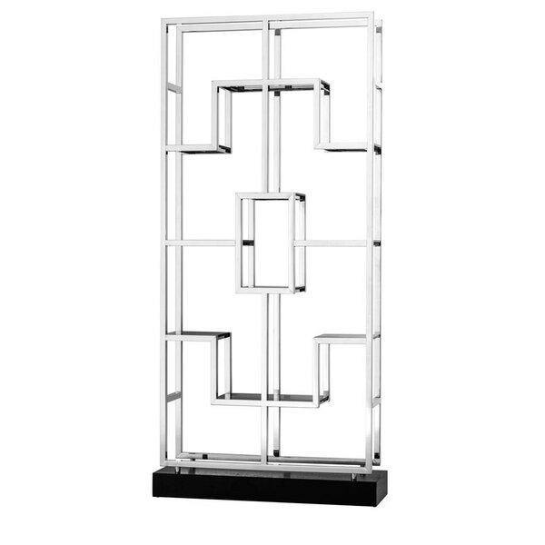 Lagonda Multi-Level Geometric Bookcase by Eichholtz