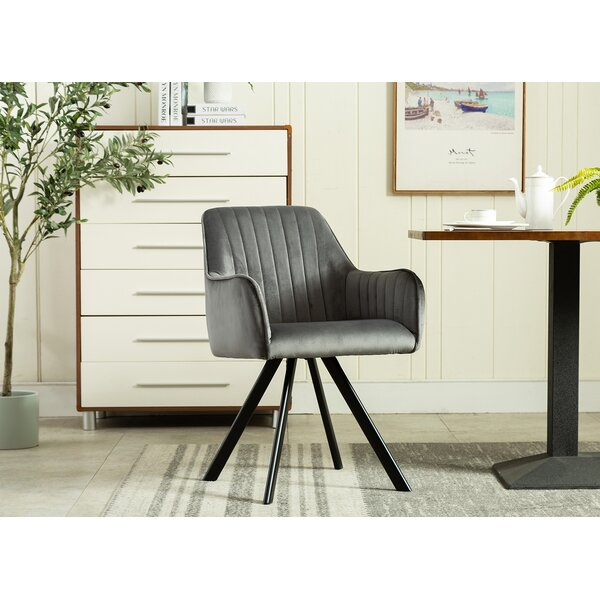 Noland Upholstered Dining Chair by Wrought Studio