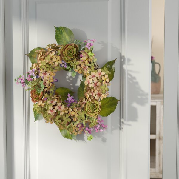 22 Peony and Eucalyptus Wreath by One Allium Way