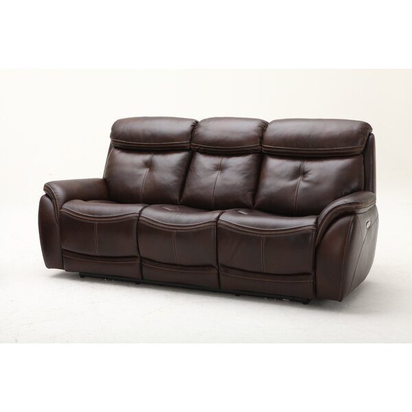 Our Recommended Homerun Leather Reclining Sofa by Southern Motion by Southern Motion