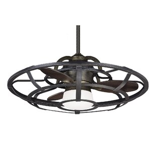Ceiling fans joss main 26 wilburton 3 blade outdoor ceiling fan with remote aloadofball Gallery