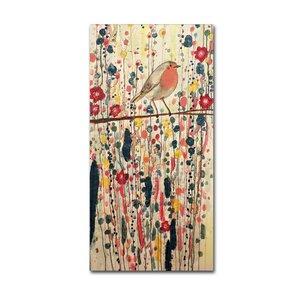 Je Ne Suis Pas Qu'un Oiseau by Sylvie Demers Painting Print on Wrapped Canvas by Trademark Fine Art