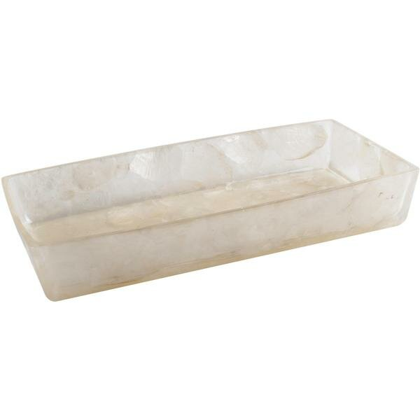 Jaworski Countertop Bathroom Accessory Tray by Highland Dunes