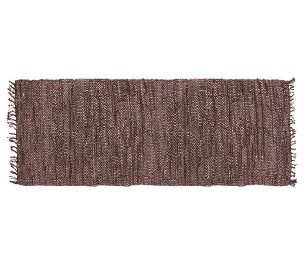 Recio Hand-Woven Brown Area Rug by Loon Peak