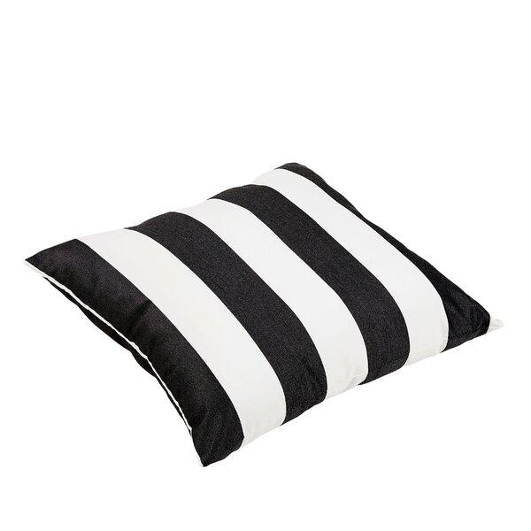 Kallisto Striped Sunbrella Cabana Classic Indoor/Outdoor Floor Pillow by Brayden Studio