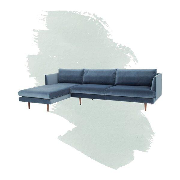 Celia Velvet 112-inch Sectional by Foundstone Foundstone