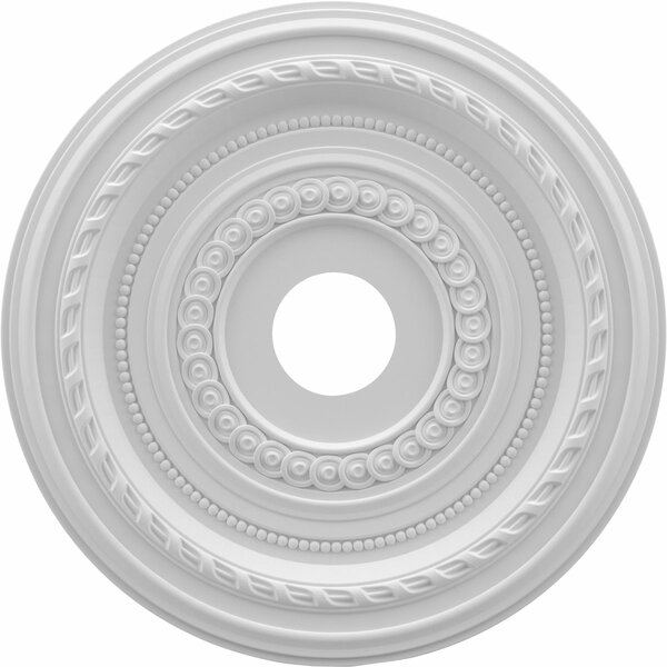 Cole 1H x 19W x 19D Ceiling Medallion by Ekena Millwork