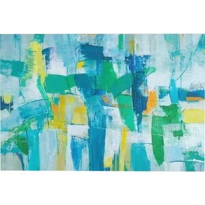 'Our Dance I' Painting Print on Canvas by East Urban Home