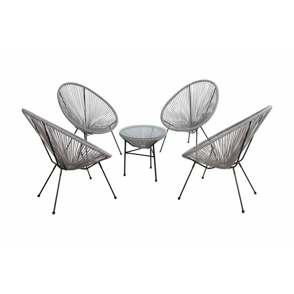 Bovina Oval Patio Chair (Set of 4) by Ivy Bronx