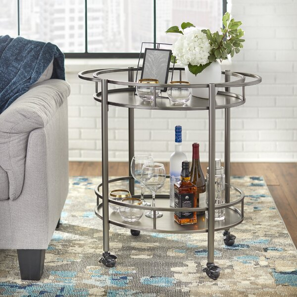 Neillsville Bar Cart by Mercer41 Mercer41