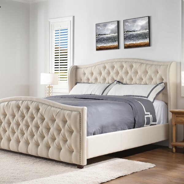 Marlon Upholstered Standard Bed By Willa Arlo Interiors by Willa Arlo Interiors Discount
