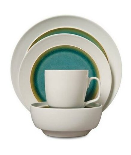 4 Piece Place Setting, Service for 1 by ABC Home Collection