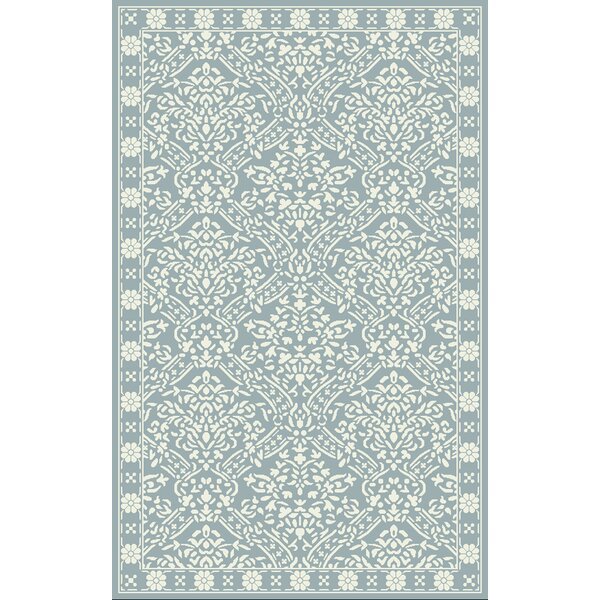 Olivier Hand Tufted Wool Blue/Ivory Area Rug by Lauren Ralph Lauren