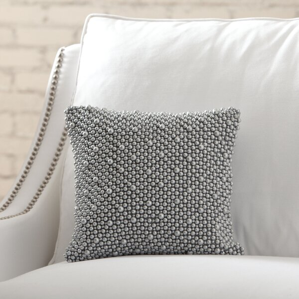 Marcia Beaded Pillow Cover by Birch Lane™