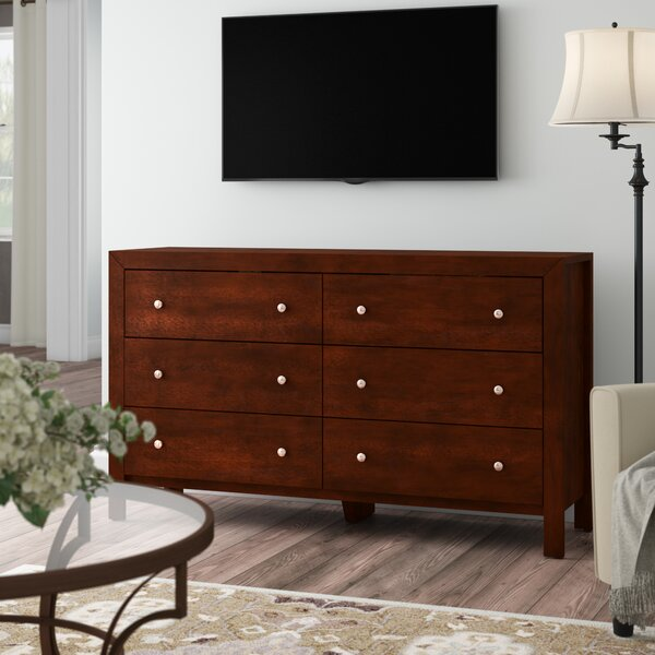 Kennon 6 Drawer Dresser by Three Posts