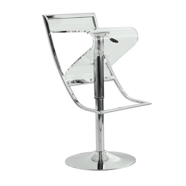 Napoli Adjustable Height Swivel Bar Stool by LeisureMod