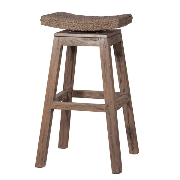 30 Swivel Top Bar Stool by Ibolili