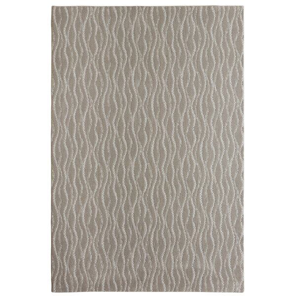 Bettie Hand-Tufted Stone Area Rug by Latitude Run