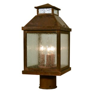 Canterbury 3-Light Lantern Head By Arroyo Craftsman Outdoor Lighting