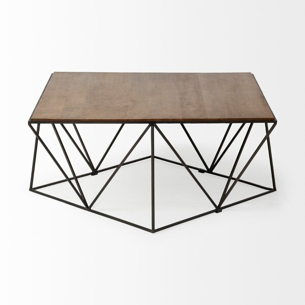 Brielle Troubador II Coffee Table by 17 Stories