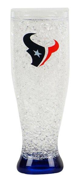 NFL 16 Oz. Crystal Freezer Pilsner Glass by DuckHouse