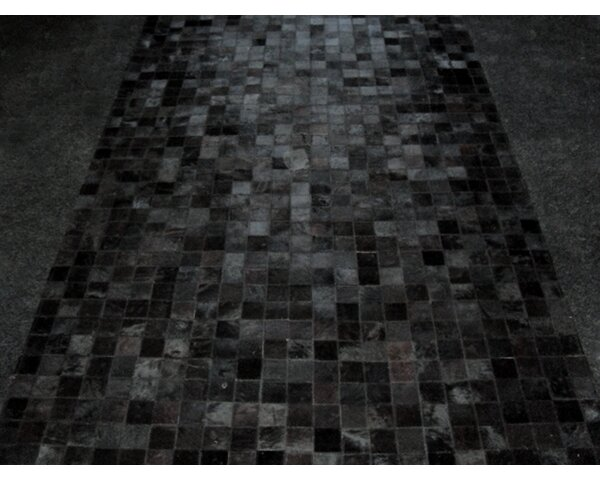 Patchwork Abyss Black Area Rug by Modern Rugs